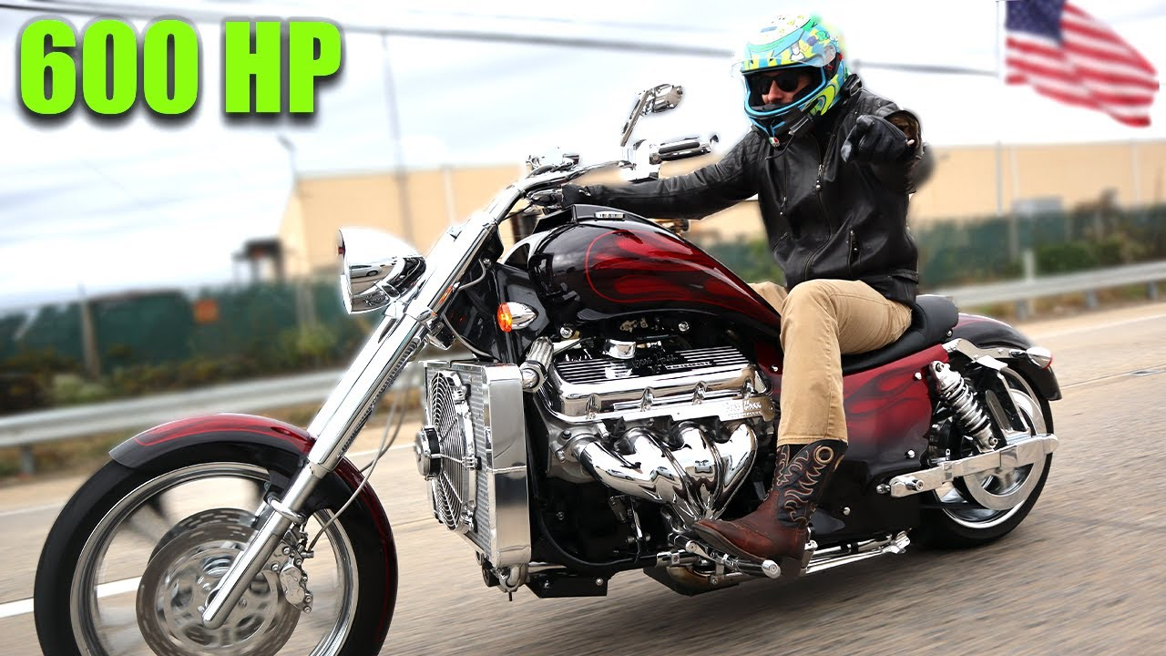 Why YOU Need to Buy a V8 Motorcycle: BOSS HOSS