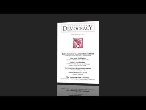 Journal of Democracy Podcast: Kurt Weyland on