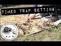 Timed Trap Setting Competition - Mtwdge Trappers' Field Day