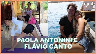 Da yoga ao mergulho: Paola Antonini, Pepê Gonçalves e Flávio Canto em Noronha com Gio | No Paraíso