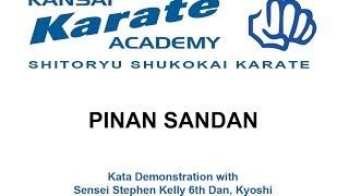 pinan sandan - shito-ryu shukokai karate kata