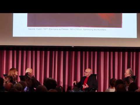 """Künstlergespräch mit Helmut Middendorf, Salomé & Jean-Christophe Ammann: Symposium """"Die 80er"""""""