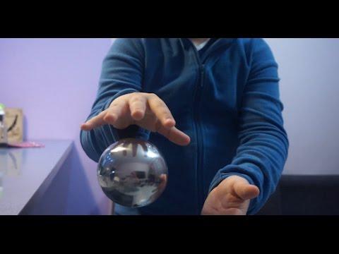 Антигравитационный стальной  шар