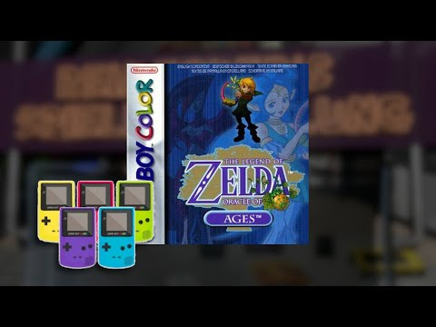 Gameplay : The Legend of Zelda Oracle of Ages [Gameboy Color]