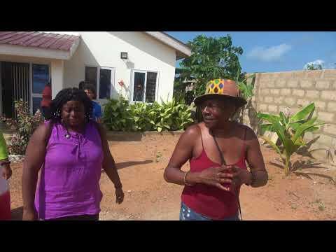 Tour of Overpriced Land Seller kojo Osagyefo  Property in Senya Beraku, Ghana - May 2018