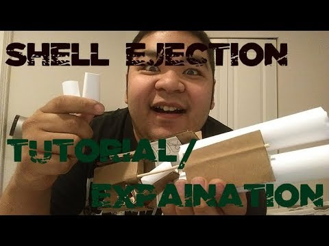 Shotgun Shell Ejection Tutorial/Explanation (Shell Ejecting) | Homemade Cardboard