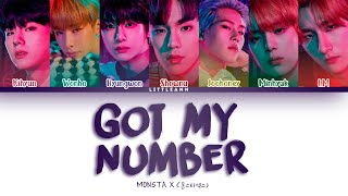 MONSTA X (몬스타엑스) – Got My Number (Color Coded Lyrics Español…