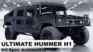 Mil-Spec Automotive Luxury Hummer H1 Tour DURAMAX POWERED