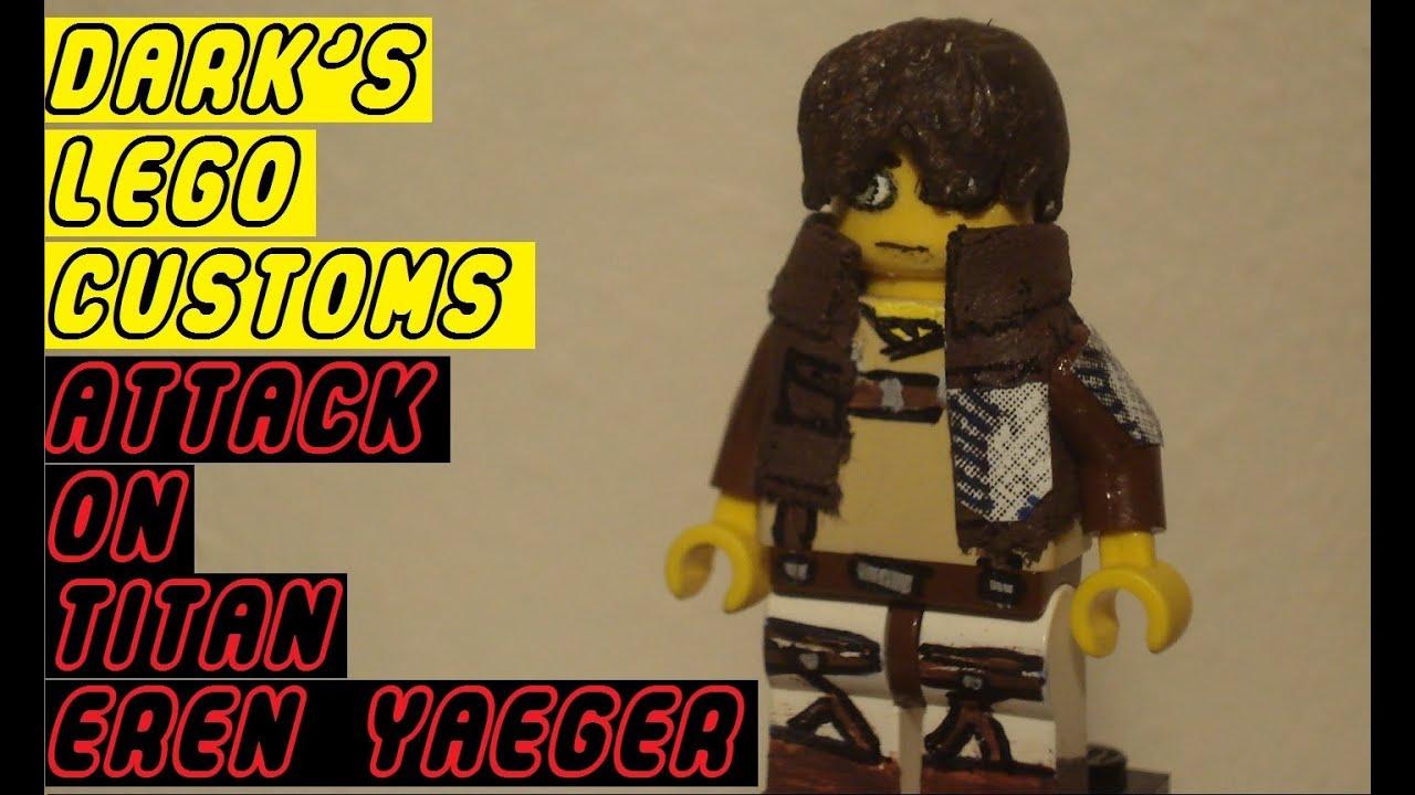 CUSTOM Attack on Titan Eren Yeager - YouTube