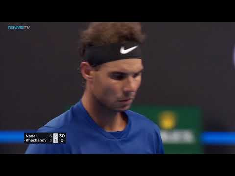 Top shots & moments in Rafa Nadal's win over Karen Khachanov | Beijing 2017