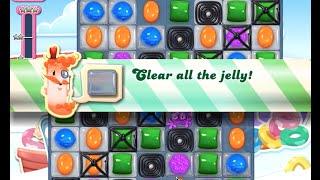 Candy Crush Saga Level 607 walkthrough