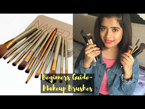 MAKEUP BRUSHES For Beginners & Their Uses   Affordable Makeup Brushes   Anindita Chakravarty