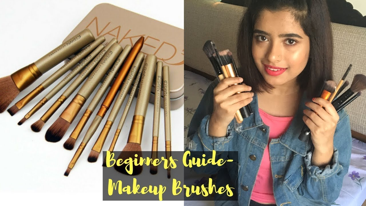 makeup brushes guide for beginners. beginners guide- essential makeup brushes \u0026 uses | anindita chakravarty guide for