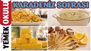 Karadeniz Sofrası | Mısır Ekmeği, Karalahana Çorbası, Dible ve Balık Tava Tarifi