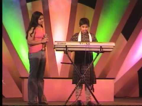 pranav s playing mellusire savigana at udaya tv studio