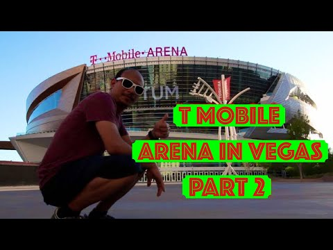 T Mobile Arena Las Vegas - Home of Las Vegas NHL Hockey Team Part 2