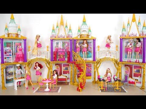 Princess Doll School Playset Prinzessin Puppe Schule École de poupée Princesse Sekolah boneka putri