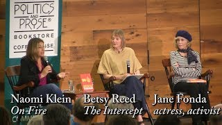 "Naomi Klein, ""On Fire"" (with Jane Fonda)"