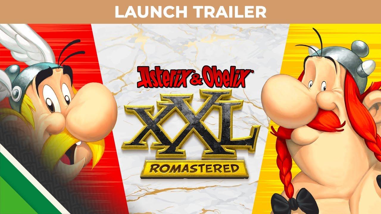 Launch Trailer για το Asterix & Obelix XXL Romastered
