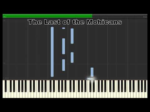 The Last of the Mohicans -- Piano Tutorial