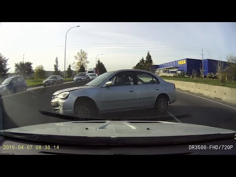 Greater Vancouver Car Crash Compilation 7