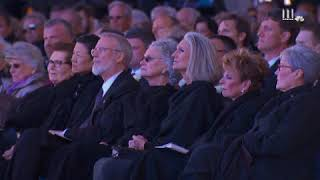 Rev. Billy Graham's son gives eulogy at his funeral