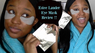 $40 EYE MASK?! | Esteé Lauder Concentrated Recovery Eye Mask