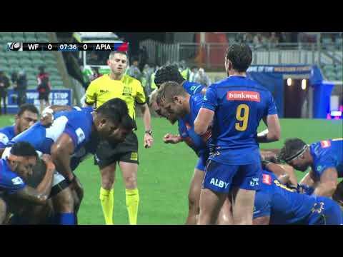 World Series Rugby - Game 5 | Western Force v Apia, Samoa