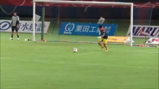 2017年8月13日(日) FC東京のGK廣末陸選手がJ1のリーグ戦で初のベンチ...