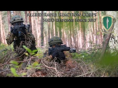 Becoming the NATO Response Force in 2017: Allied Rapid Reaction Corps