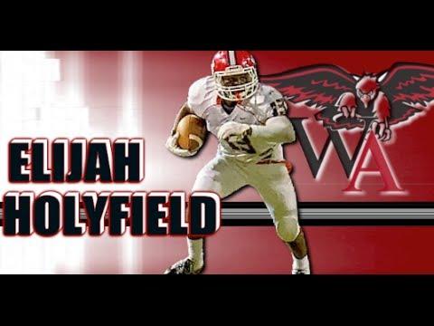 RB Elijah Holyfield '16 (Woodward Academy - Atlanta, GA) Sophomore Highlighhts