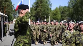 New unit arrives at eFP Battlegroup Latvia