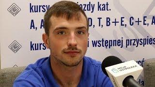 Marcin Kraska (Korona Ostrołęka) o meczu z Ząbkovią Ząbki