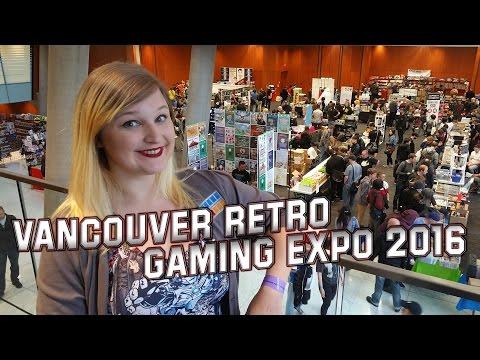 Vancouver Retro Gaming Expo 2016