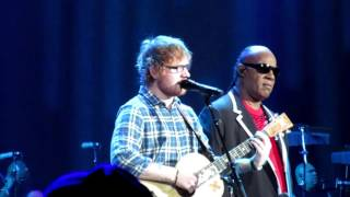 Pastime Paradise - Stevie Wonder & Ed Sheeran -10/14/15