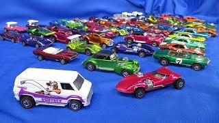 Vintage Hot Wheels Cars! 1968-75 Redlines lot from 2018 Hot Wheels Collectors Nationals Convention