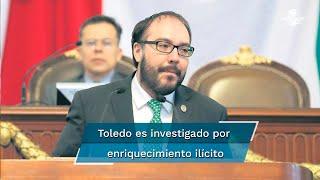 La jefa de Gobierno señaló que no debatirá con el vicecoordinador del Partido del Trabajo en la Cámara de Diputados, Gerardo Fernández Noroña, quien expuso que la investigación contra Mauricio Toledo es una persecución política