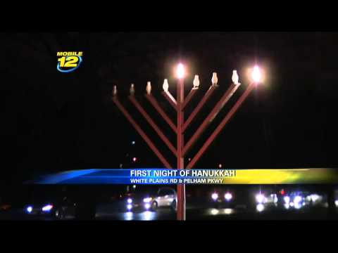 Jewish Community Celebrates First Night of Chanukkah In The Bronx