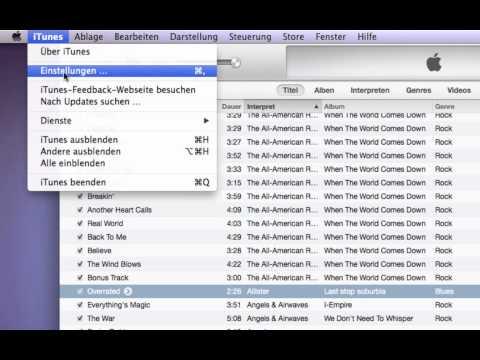 iTunes 11- gekaufte Musik kostenlos in mp3 umwandeln *german/HQ*