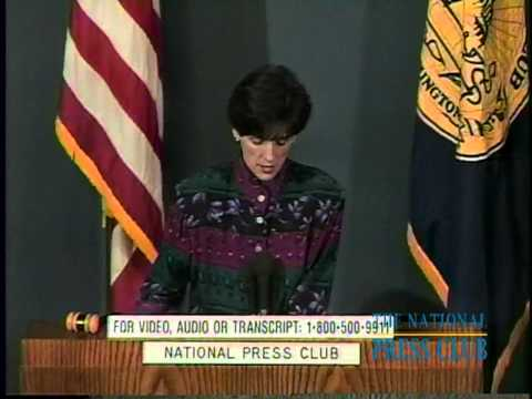 National Press Club Luncheon with Carol Browner