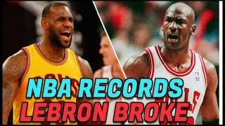 Top Ten Unbreakable NBA Records That Lebron James Holds