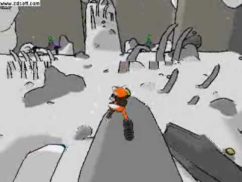 Unity 3D 2.6 Toon Shaded Fox Game Footage