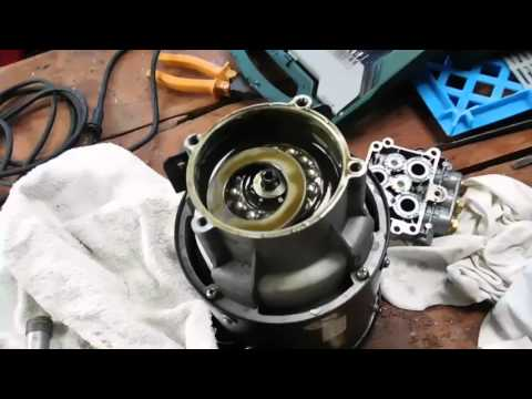 Oil Pressure Switch >> Nilfisk Alto Pressure Washer Disasembly - YouTube