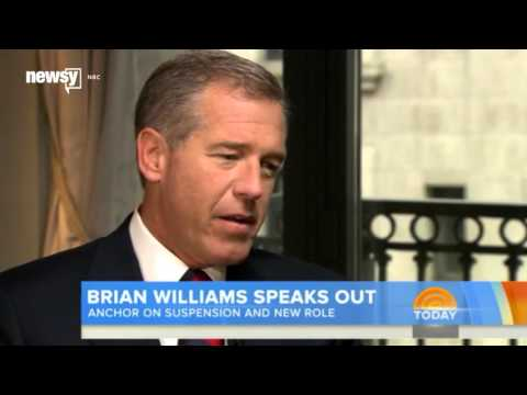 Brian Williams' Image Rehab Starts With A Smaller Role - Newsy