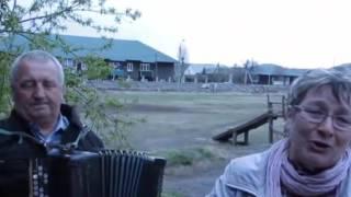 Над Рекой Калина Спелая(Осока)песня под баян