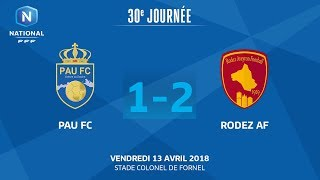 Pau vs Rodez full match