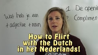 flirten in het nederlands)