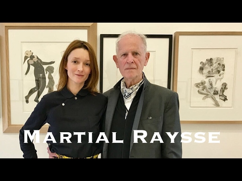 Martial Raysse, Come With Me to discover his drawings.