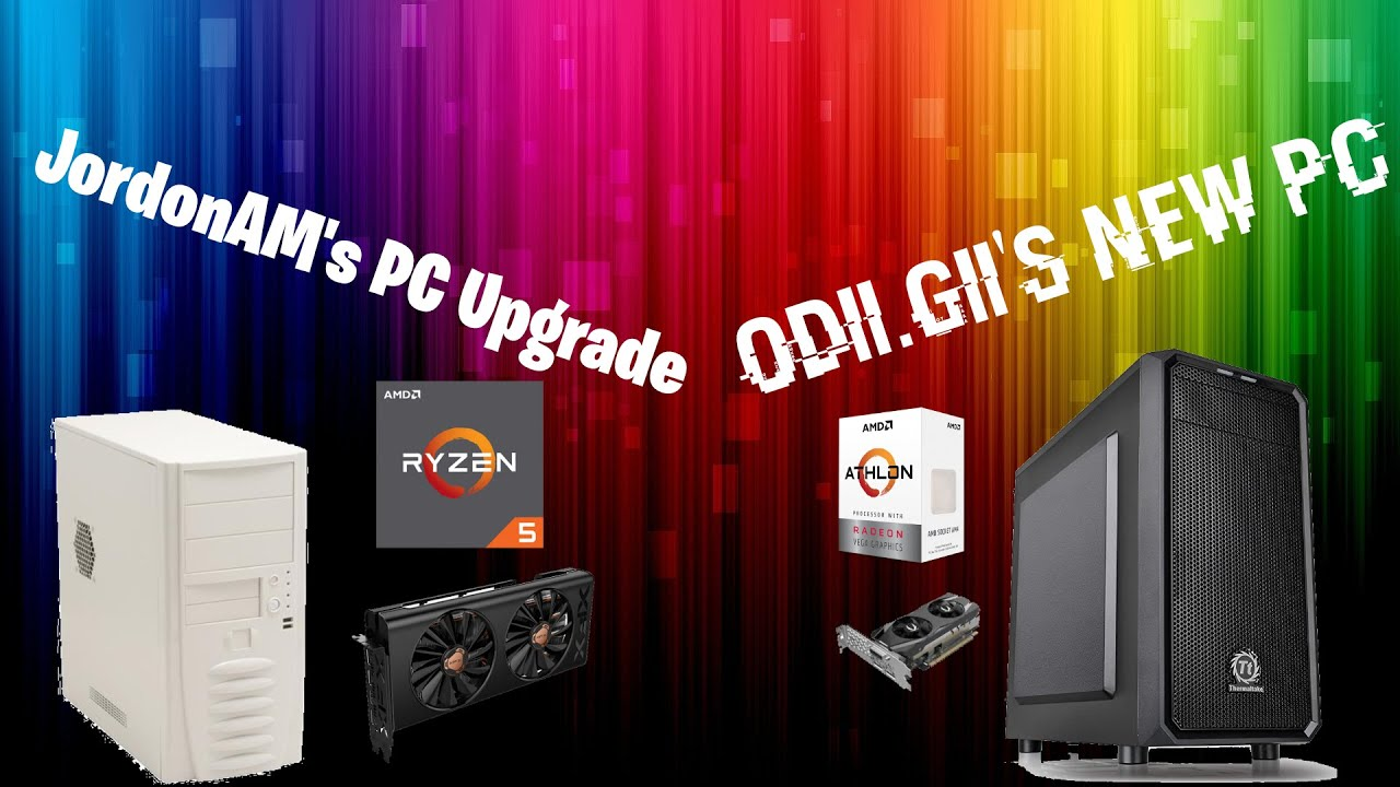 Upgrading my Sleeper PC + Building Odii.Gii's New PC