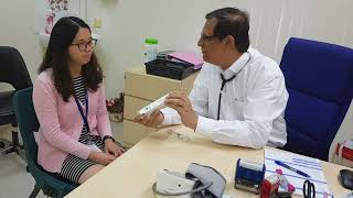 Health Message - Be vaccinated against influenza